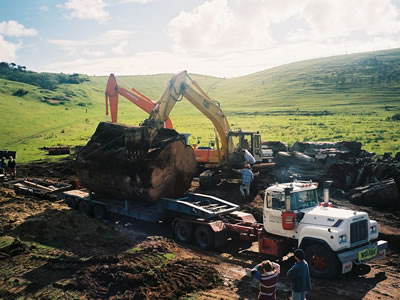 Excavation In New Zealand